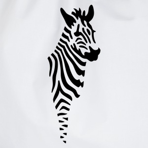 Zebra - Drawstring Bag