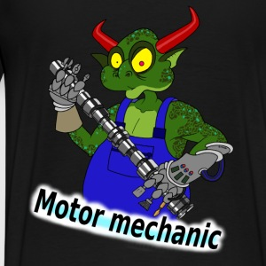 Motor mechanic Hoodies & Sweatshirts - Men's Premium T-Shirt