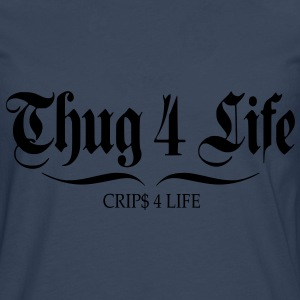 T shirt femme thug 4 life crips 4 life - T-shirt manches longues Premium Homme