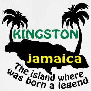 kingston jamaica T-shirts - Basebollkeps