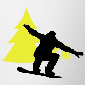 snowboarder trees Pullover - Tasse