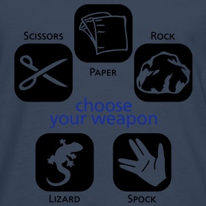 Choose your weapon T-Shirts - Männer Premium Langarmshirt