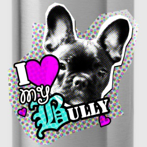 Bully - Franse Bulldog - Liefde Kinder sweaters - Drinkfles