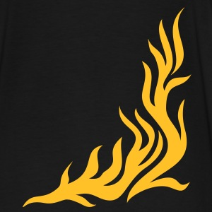 llama, Flame/ T-shirt, fire,vector, can be combined with flame / pants Chaquetas y chalecos - Camiseta premium hombre