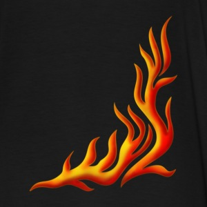 Flame / T-shirt, Motiv 1, Fire, digital, yellow, red Barntröjor - Premium-T-shirt herr