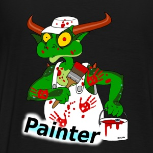 painter Hoodies & Sweatshirts - Men's Premium T-Shirt