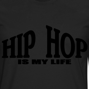 hip hop is my life Tee shirts Enfants - T-shirt manches longues Premium Homme