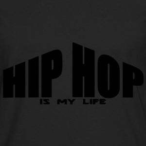 hip hop is my life Sweat-shirts - T-shirt manches longues Premium Homme