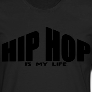 hip hop is my life Sweats Enfants - T-shirt manches longues Premium Homme