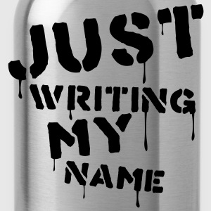 Just writing my name - Water Bottle