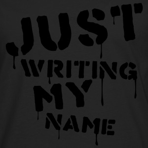 Just writing my name - T-shirt manches longues Premium Homme