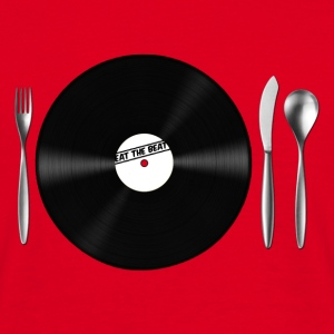 Eat the Beat / Save the Vinyl Borse - Maglietta da uomo