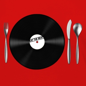 Eat the Beat / Save the Vinyl Borse - Maglietta Premium a manica lunga da donna