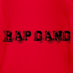 rap gang Shirts - Organic Short-sleeved Baby Bodysuit