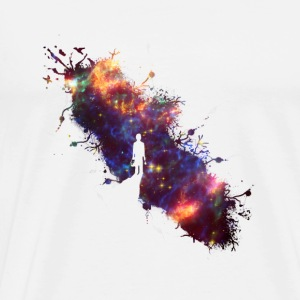Sky maler supernova Space Star 04 Sweatshirts - Herre premium T-shirt