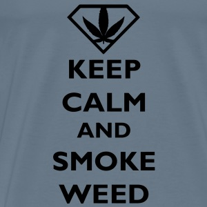 Keep Calm and Smoke Weed Baby Body - Camiseta premium hombre