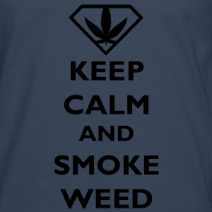 Keep Calm and Smoke Weed Baby Bodysuits - Men's Premium Longsleeve Shirt