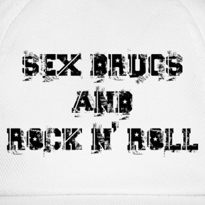 sex drugs and rock n' roll Sweat-shirts - Casquette classique