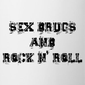 sex drugs and rock n' roll Sweatshirts - Kop/krus
