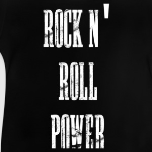 rock n' roll power Tee shirts Enfants - T-shirt Bébé
