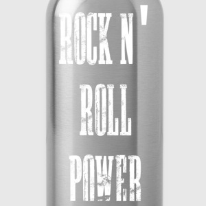 rock n' roll power T-shirts - Drikkeflaske