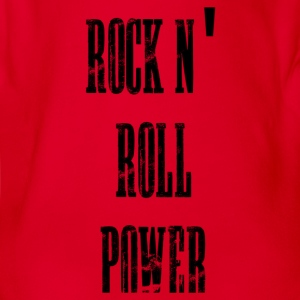 rock n' roll power Tee shirts Enfants - Body bébé bio manches courtes