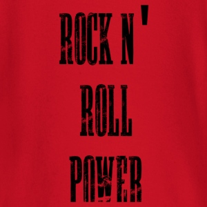 rock n' roll power bolsas - Camiseta manga larga bebé