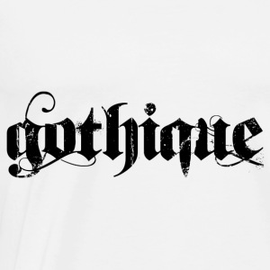 gothique Hoodies & Sweatshirts - Men's Premium T-Shirt
