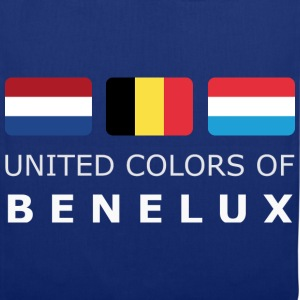 Classic T-Shirt UNITED COLORS OF BENELUX white-let - Tygväska
