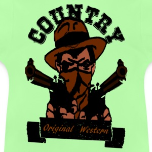 country original western Tröjor - Baby-T-shirt