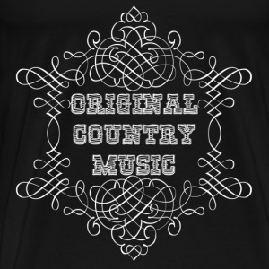 original country music Sweatshirts - Herre premium T-shirt