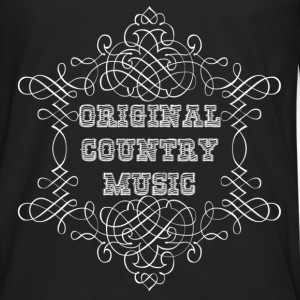 original country music Sweat-shirts - T-shirt manches longues Premium Homme