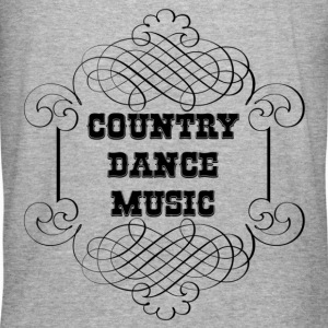 country dance music Hoodies & Sweatshirts - Men's Slim Fit T-Shirt