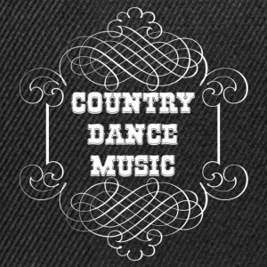 country dance music Tröjor - Snapbackkeps