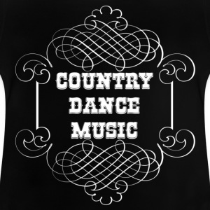country dance music T-shirts - Baby-T-shirt