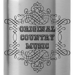 original country music Shirts - Water Bottle