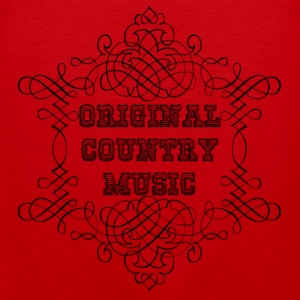 original country music T-Shirts - Männer Premium Tank Top