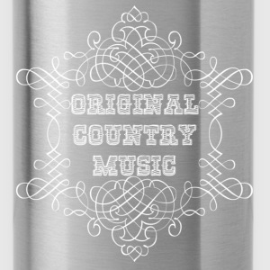 original country music Hoodies - Water Bottle