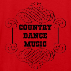 country dance music Hoodies - Men's Premium Tank Top