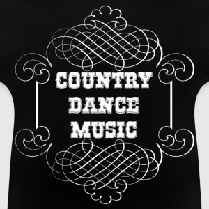 country dance music Tröjor - Baby-T-shirt