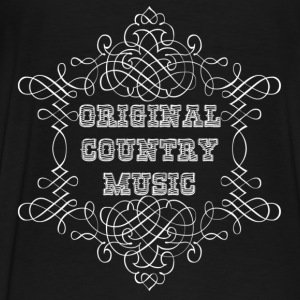 original country music Gensere - Premium T-skjorte for menn