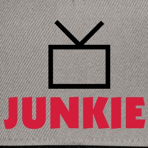 tv_junkie_color_25 Borse - Snapback Cap