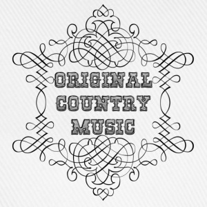 original country music Tröjor - Basebollkeps