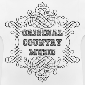original country music Felpe - Maglietta per neonato