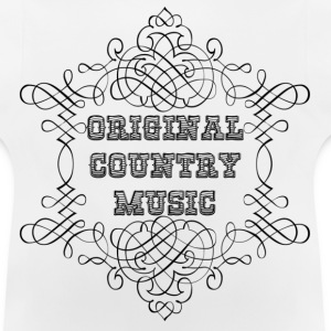 original country music Sweats Enfants - T-shirt Bébé