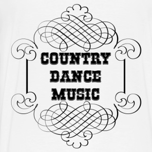 country dance music Gensere - Premium T-skjorte for menn