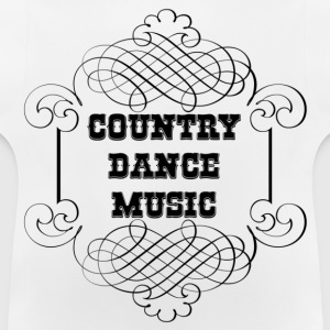 country dance music Pullover & Hoodies - Baby T-Shirt