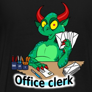 office clerk Hoodies & Sweatshirts - Men's Premium T-Shirt