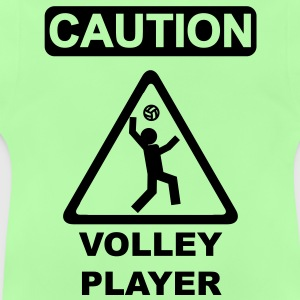 Caution Volleyplayer Kinder Pullover - Baby T-Shirt