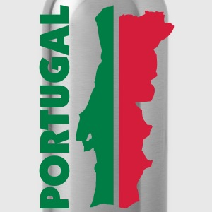portugal_umriss_flagge_50 Pullover - Trinkflasche